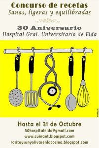 cartel concurso cocina