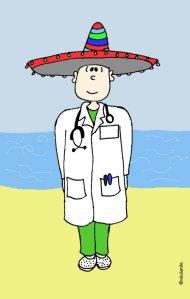 medico de vacaciones