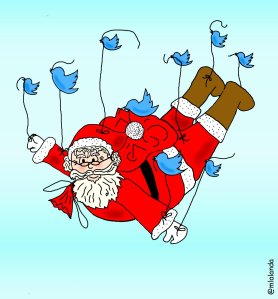 twitter friends and christmas