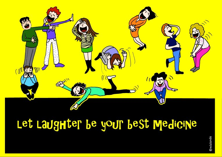 let laughter be your medicine